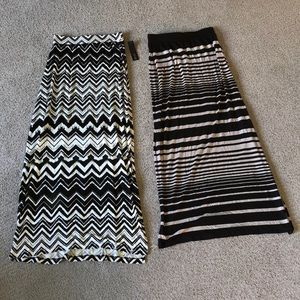 NWT Pair of maxi skirts